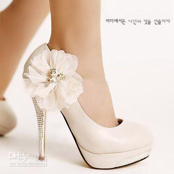 Chaussure A Talon De Mariage