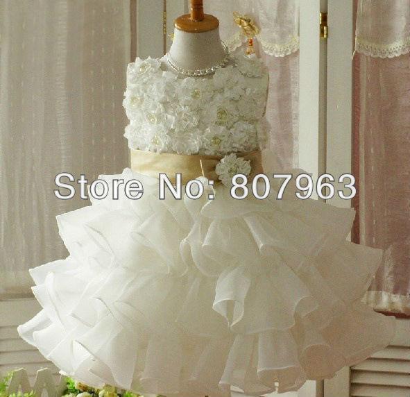 2018 Baby Girl Party Dress Baby Tutu Dress Wedding Dress For Girl