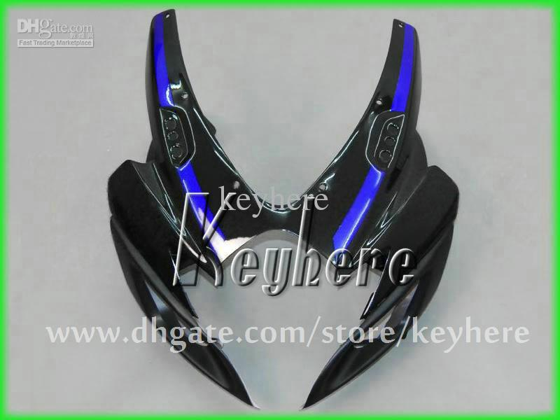 Kit carena iniezione custom SUZUKI 06 07 GSX R600 R750 2006 2007 Kit carenatura GSXR600 GSXR750 GS6R750 blu nero G4g