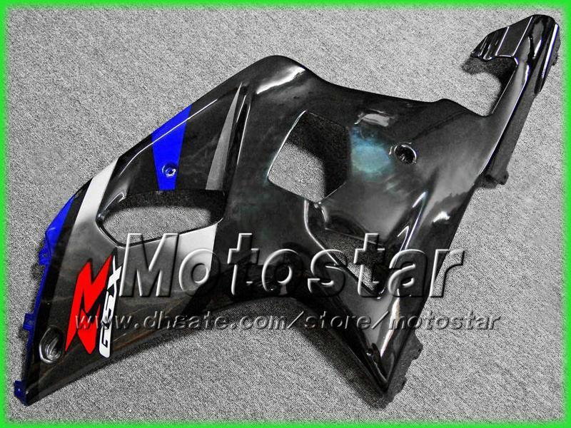 Suzuki GSXR 600 750 K1 2001 2002 2003 GSXR600 GSXR750 01 02 03 R600 R750 블랙 블루 페어링 키트 AA7