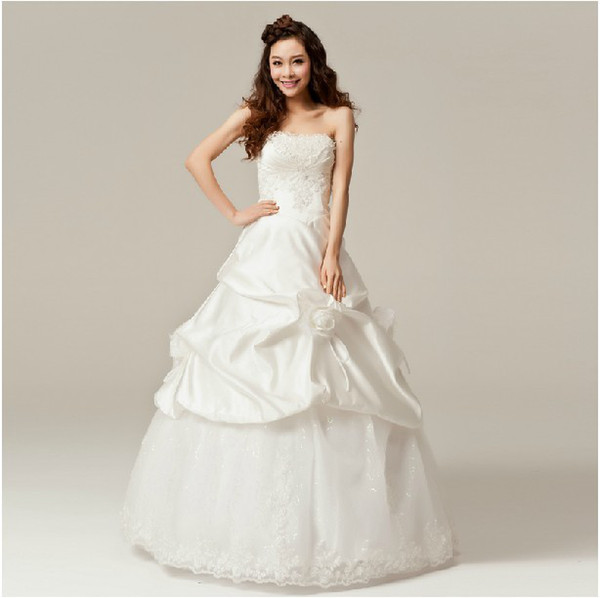Fashion design wedding dress up
