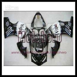 Wholesale Kawasaki Zx12r Fairings - high quality black west white bodywork for KAWASAKI Ninja ZX 12R 00 01 2000-2001 ZX-12R 2000 2001 ZX12R 00-01 fairing kit bodywork s78553