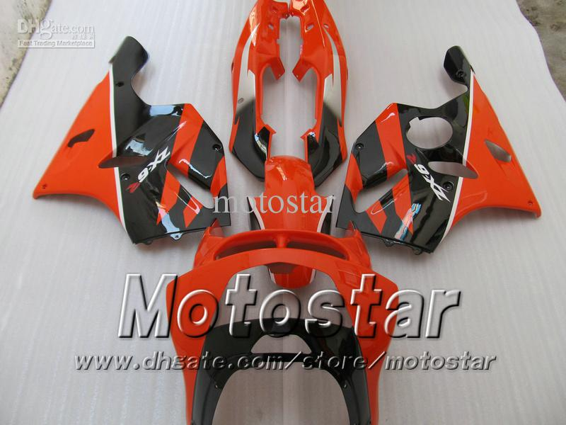 Freeship Orange fairings for KAWASAKI ninja ZX-6R 94-97 ZX 6R 1994-1997 ZX6R 94 95 96 97 1994 1995 1996 1997 ninja fairings