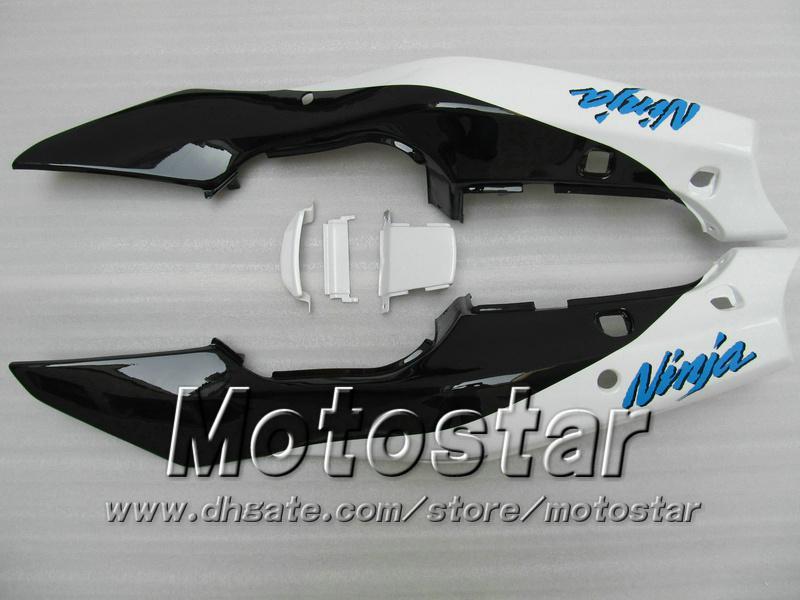 carenatura carrozzeria bianca KAWASAKI Ninja ZX-6R 94-97 ZX 6R 1994 1995 1996 1997 ZX6R 94 95 96 97 zx6r carene