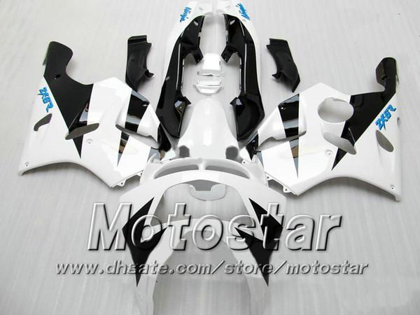 carenatura per carrozzeria bianca PER KAWASAKI Ninja ZX-6R 94-97 ZX 6R 1994 1995 1996 1997 ZX6R 94 95 96 97 zx6r carene