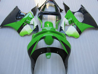 Wholesale New Hot Fairings Kits - New Hot Green fairings for Kwasaki Ninja ZX6R 1998 1999 ZX-6R 98-99 ZX 6R 98 99 Full Fairing kits