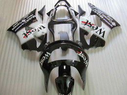 Pára-brisas 99 on-line-Frete grátis WEST Kit de Carenagem para KAWASAKI Ninja ZX6R 1998 1999 ZX-6R 98-99 ZX 6R 98 99 kits de carenagem completa Livre windscreen