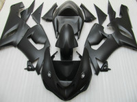 zx 636 al por mayor-Kit de carenado para Kawasaki Ninja ZX6R 636 05 06 ZX-6R 2005 2006 ZX 6R kits de carenado negro mate