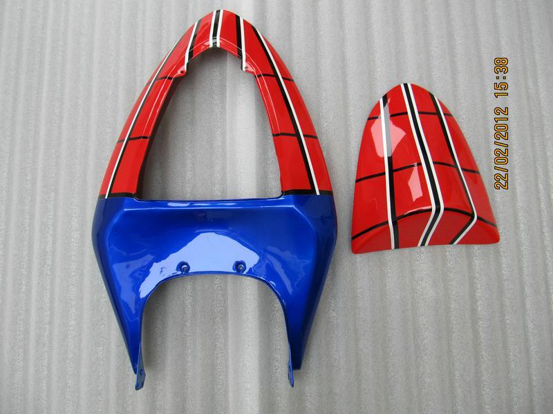 ZK242 Spider Man theme Kit de carenado de carrocería FOR Ninja ZX6R 636 ZX-6R 2005 2006 05 06 ZX 6R 05-06 fairngs