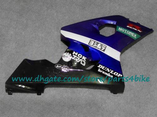Conjunto de carenagem de plástico ABS 04 05 GSXR 600 750 GSX R750 R600 K4 Carenagem de alta qualidade SUZUKI 2004 2005 novo aftermarket com 7 presentes