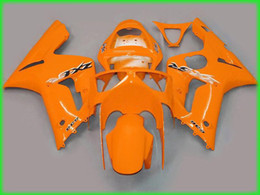 Whole Orange Bodywork Fairing Kit For Kawasaki Ninja ZX6R 636 03 04 ZX 6R 2003 2004 Fairings Kits Zx6r Deals