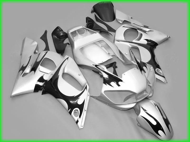 1998 1999 2000 2001 2002年YZF R6 YZFR6 YZFR 600 YZF-R6 98 99 00 01 02フェアリングキット