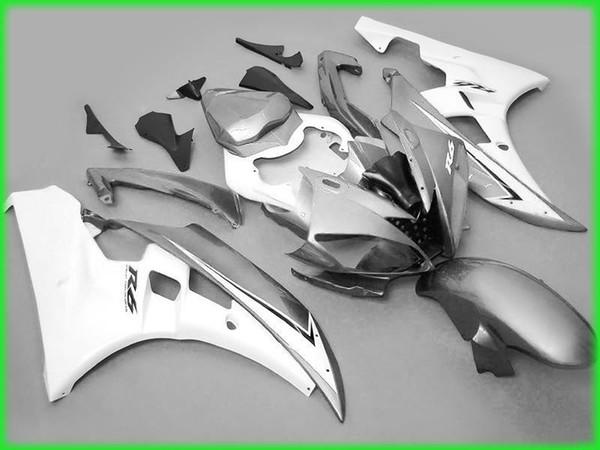 sale! Silver gary Fairings for yamaha 2006 2007 YZF R6 YZFR6 06 07 YZFR 6 YZF-R6 full fairing kits bodywork