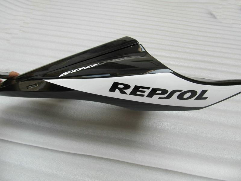 Black White ABS Fairing Kit voor HONDA CBR600RR 2009 2010 2011 CBR 600RR CBR600 RR F5 09 10 11 REPSOL-injectie-kits Kits