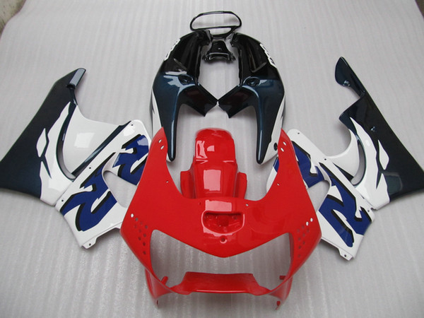 Red blue Fairings kit for Honda CBR900RR 919 CBR CBR919RR CBR919 1998 1999 98 99 full set fairing kit
