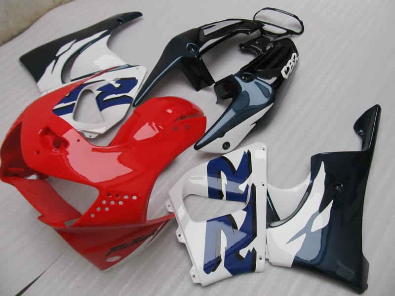 Red blue Fairings kit for Honda CBR900RR 919 CBR CBR919RR CBR919 1998 1999 98 99 full set fairing kit