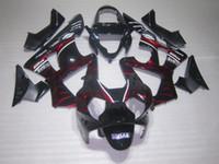 honda cbr 929 verkleidungen rot großhandel-Hochwertige Red Flame Fairings Kit für Honda CBR900RR 929 CBR CBR929RR CBR929 2000 2001 00 01 Motorrad Verkleidungskits