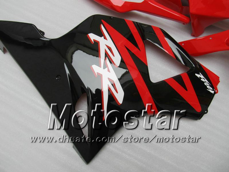 Custom Red black Fairings kit for Honda CBR900RR 954 CBR CBR954RR CBR954 2002 2003 02 03 motorcycle fairing kits