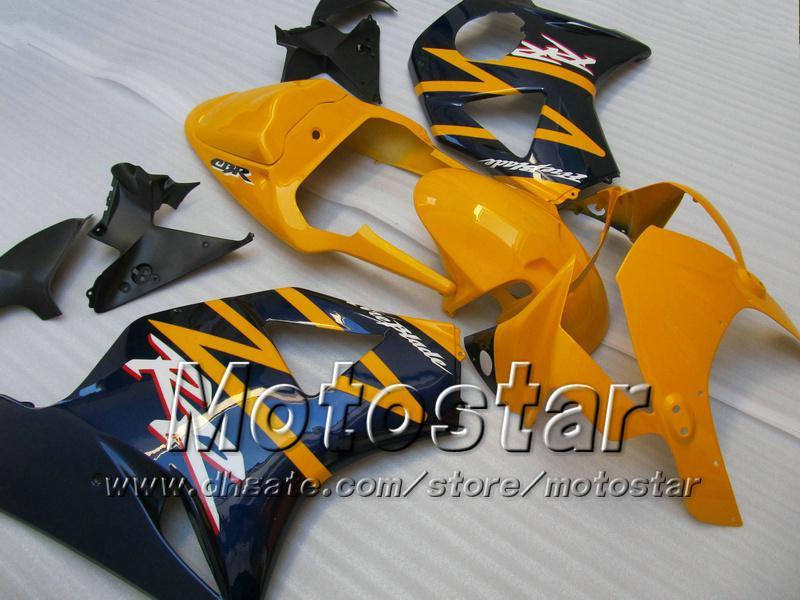 혼다 용 ABS 플라스틱 박판 키트 CBR900RR 954 CBR CBR954RR CBR954 2002 2003 02 03 본체 수리 페어링 부품