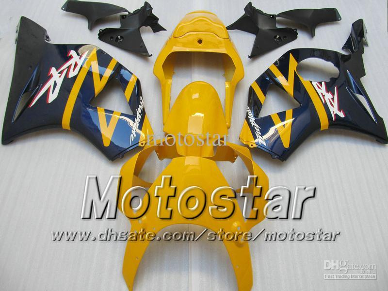 Kit de carenados de plástico ABS para Honda CBR900RR 954 CBR CBR954RR CBR954 2002 2003 02 03 carenados de reparación de carrocería