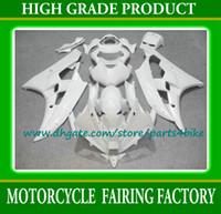 Wholesale R6 Custom Plastic - 7 Gifts,custom all glossy white moto farings set for YZF R6 2006 2007 YAMAHA YZFR6 06 07 bodywork kit ABS Plastic fairing set
