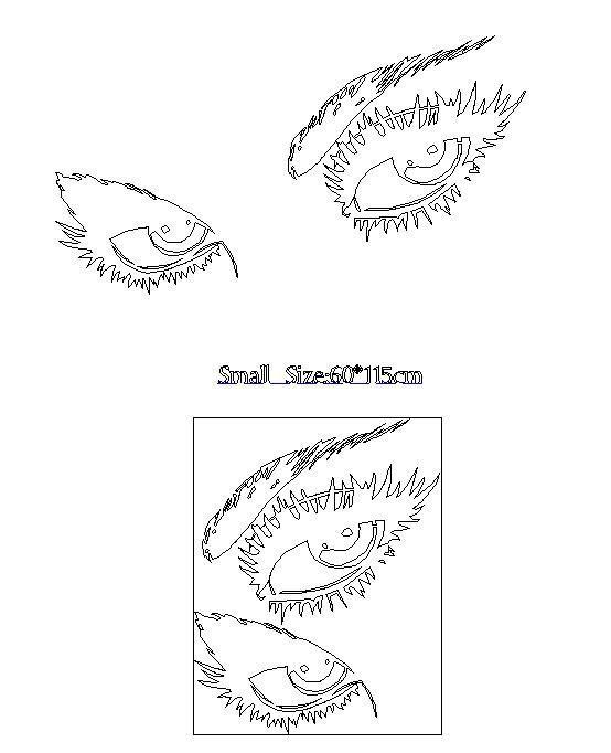 Audrey Hepburn\'s Eyes Wall Decals Hepburn\'s Eyes Wall Stickers ...