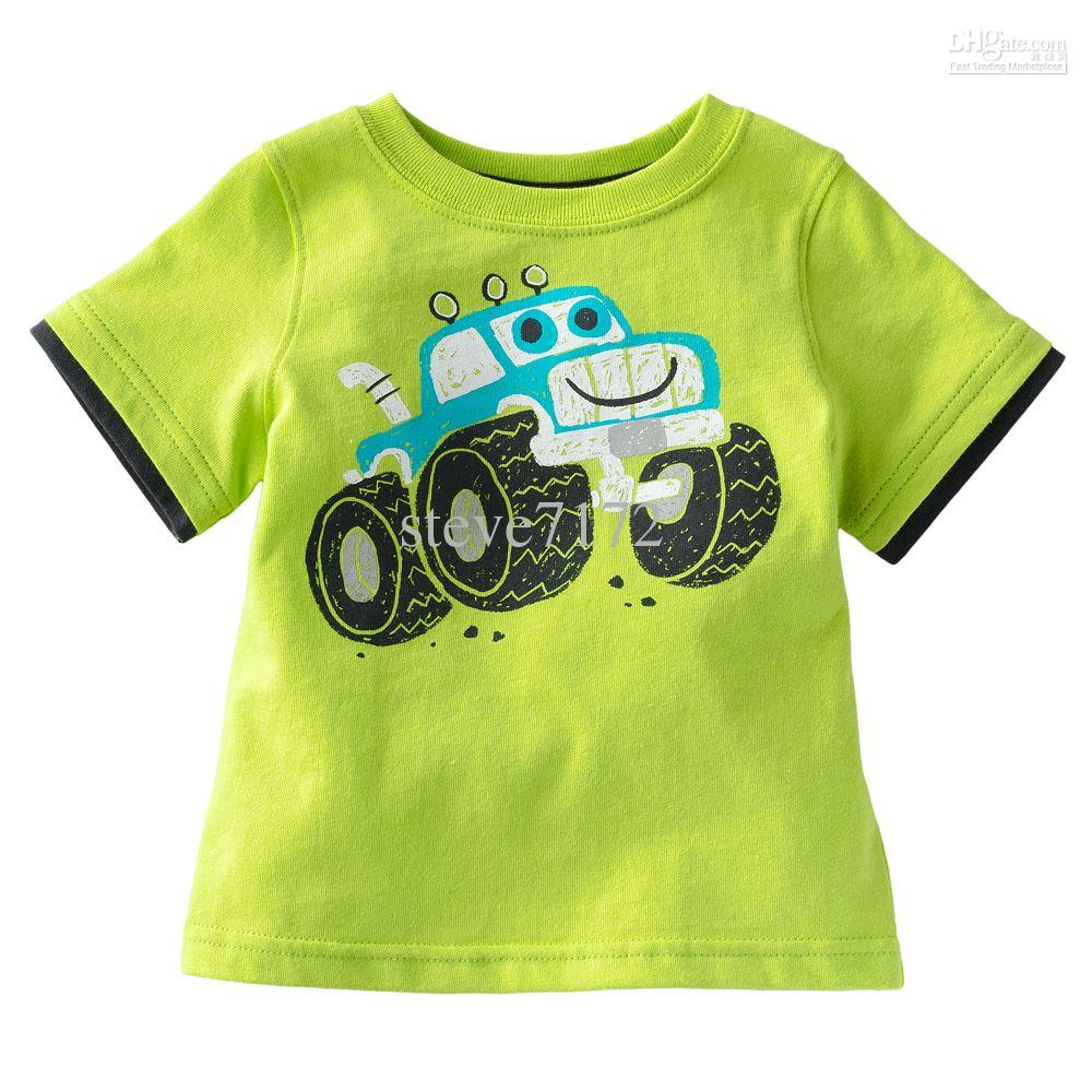 Boys Tees Shirts Girls T-shirts Baby Tshirt Tank Tops Short Sleeve ...