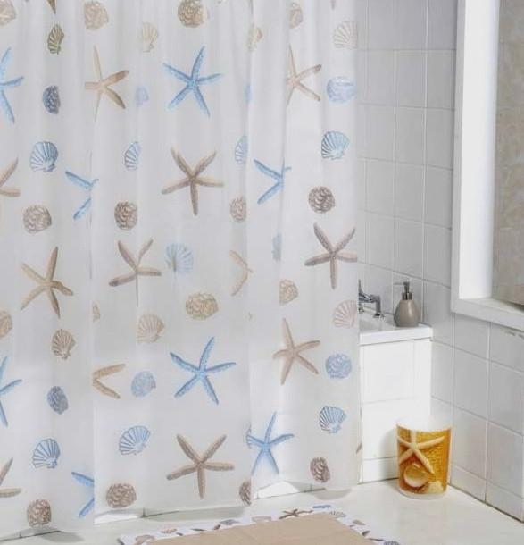 ... Starfish Shower Curtain Scrub Waterproof Peva Shower Curtain Special  Low Thin Section ...