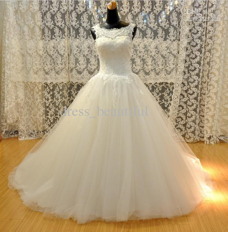 2017 Luxury Full Lace Wedding Dresses Country Style Pluging V-neck ...