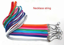 Wholesale Ego W Promotion - E Cig Necklace string neck chain Lanyard for ego,ego-t,ego-w,ego-c ego-F..electronic cigarette e-cigarette From Janet Promotion