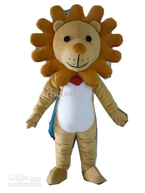 See larger image  sc 1 st  DHgate.com & Am5047 Lion Mascot Costume Carnival Costume Fancy Dress Costumes ...