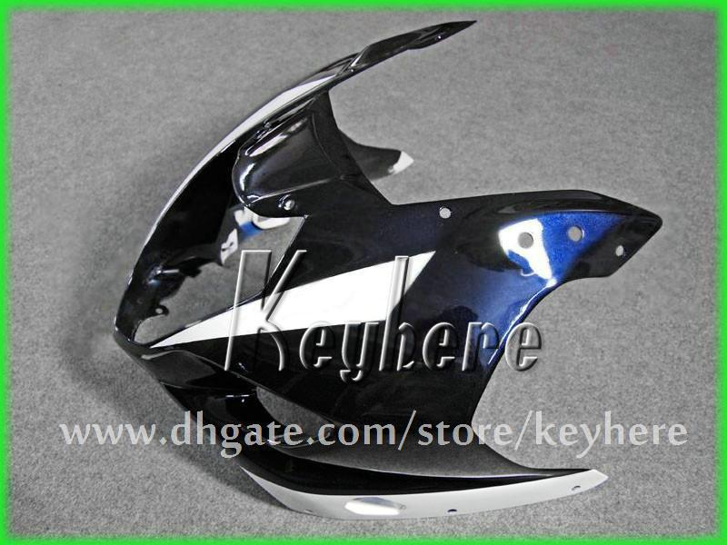 Kit de carénage de course personnalisé gratuit pour SUZUKI GSXR 1000 2003 2004 GSX R1000 03 04 K3 carénages G1h blanc bleu noir carrosserie moto