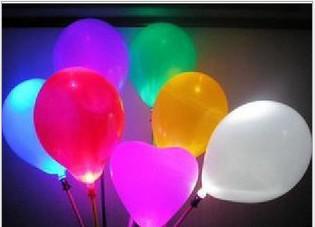 Festival / Deco LED clignotant Balloon Lights, jouets de ballon de décorations de mariage de fête