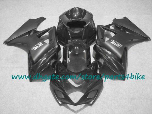 Auto da corsa popolari Carene SUZUKI nero opaco GSX-R1000 07 carene in plastica ABS GSXR 1000 2008 K7 2007 con 7 regali