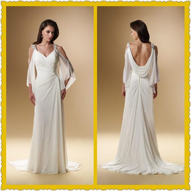 non traditional beach wedding dresses