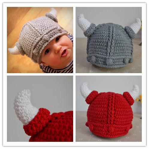 Discount Retail Baby Crochet Hats Baby Boys Viking Helmet Pattern