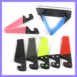 Wholesale S4 Duos - Universal Duo Holder Mobile phone Cellphone Stand holder for iphone 5 6 iphone5 4 4s ipad Samsung Galaxy S3 S4 note 1 2 ipad 2 3 4