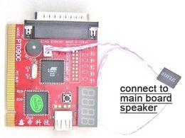 Wholesale Debug Post Card - PCI&LPC+USB port, 4Bit display PC POST Analyzer card debug card POST code card test card