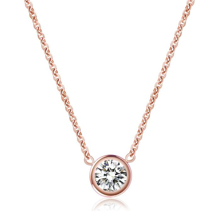 necklace tradesy gold i rose diamond effy