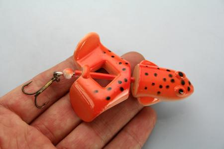 LOT15 Top water Frog Fishing Lure Bait 12.2g/7cm T