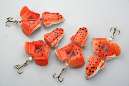 LOT15 Top Water Frog Fishing Lure Bait 12.2g / 7cm T
