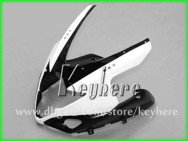 Livre de 7 presentes kit de carenagem ABS personalizado para SUZUKI GSXR 1000 2005 2006 GSX R 1000 05 06 carenagens K5 G6i alto grau branco preto motocicleta peças