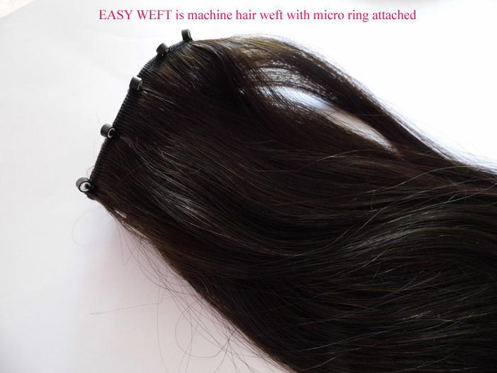 16 28 1b Easy Ring Hair Weft Ez Hair Weft Swift Weft Indian