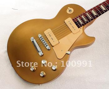 top quality new studio tribute gold top p90 pickups electric guitar history of the electric. Black Bedroom Furniture Sets. Home Design Ideas
