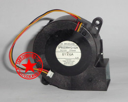 Wholesale 12v Server Fans - Free Shipping For Toshiba SF6023RH12-52A Server Blower Fan DC 12V 170mA, 60x60x25mm 3-wire 3-pin Projector TDP-EX20U fan