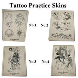 Tattoo Practice Skins For Tattoo Machine Gun Needle Ink Tips Grips Kits 4 Styles Can choose