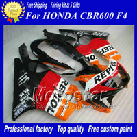 Free Customized REPSOL fairing kits for Honda 1999 2000 CBR ...