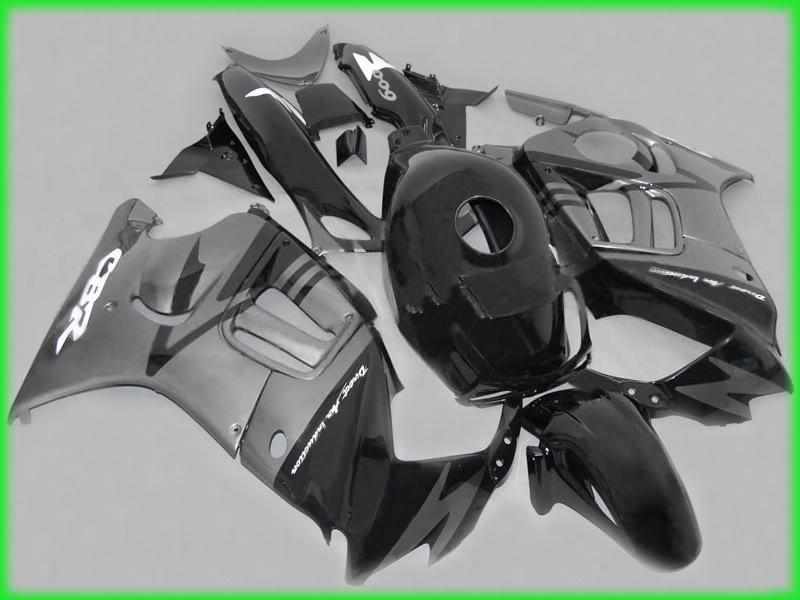 Free customize Silver Fairing parts for honda CBR600F3 95-96 CBR600 F3 1995 1996 CBR 600 F3 95 96 fairings kits