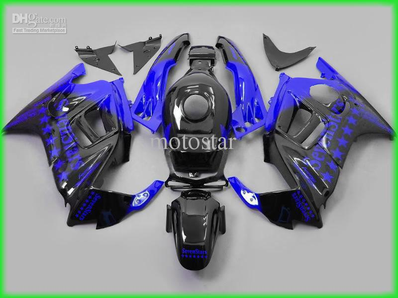 H2503 Blue black sever starts ABS Fairing kit for Honda CBR600 F3 CBR600 F3 1995 1996 CBR 600F3 95 96 7 stars fairings kits