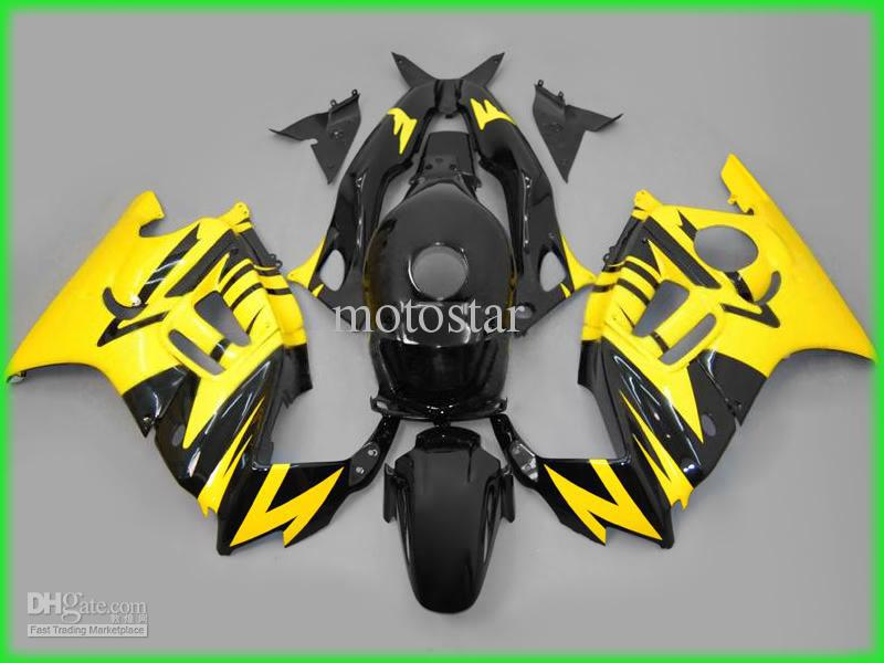 Customize motorcycle fairing kit for Honda CBR600 F3 CBR 600 F3 1997 1998 CBR 600F3 97 98 body repair fairings kit